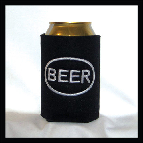 Ready to Ship BEER Logo Can Cooler