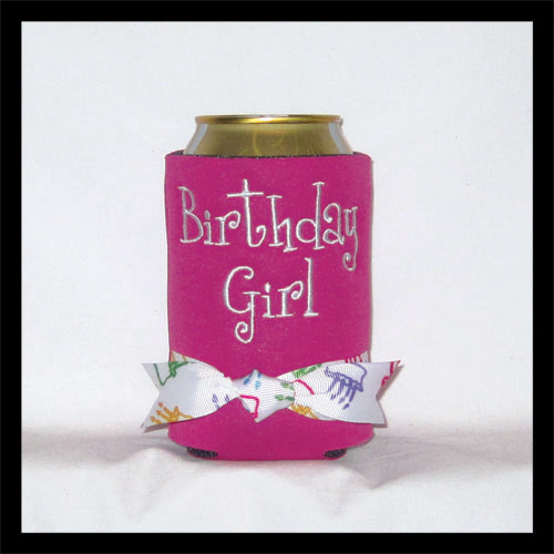 Ready to Ship Birthday Girl Can Cooler