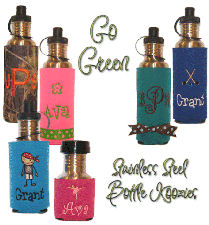 Metal Bottle Koozies