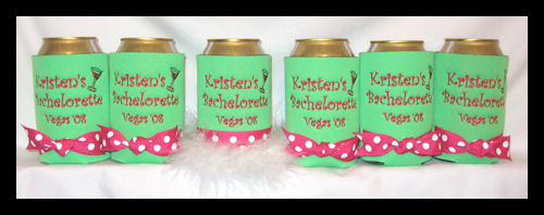Personalized Bachelorette Party Coolers