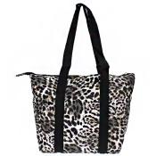 black leopard wine tote wine purse