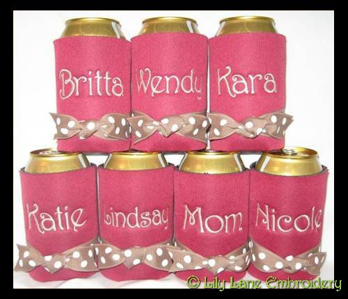 Bridesmaid Coolers