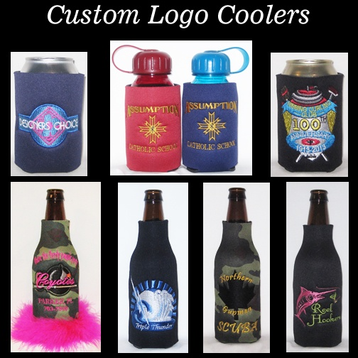custom embroidery koozies