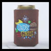 Ready to Ship Dad's Grill Can Cooler