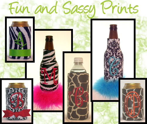 Fun and Sassy Printed Coolers
