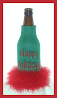happy holidays feather longneck