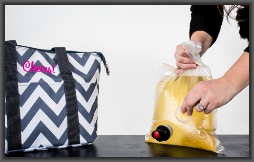 Plastic Washer for Insulated Wine Tote Wine Purse