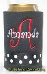 black black dot red curlz font