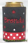 black red white dot tinkertoy font dots and swirls