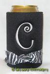 black zebra curlz font