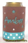 brown turquoise dot angelina font