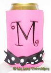 neon pink black curlz font