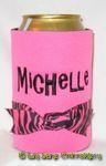 pink hot pink zebra gilligan font