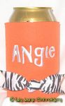 orange zebra gilligan font