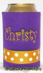 purple yellow gold curlz font