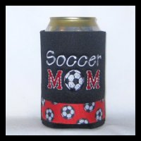 Ready to Ship Soccer Mom Can Cooler