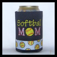 Ready to Ship Softball Mom Can Cooler