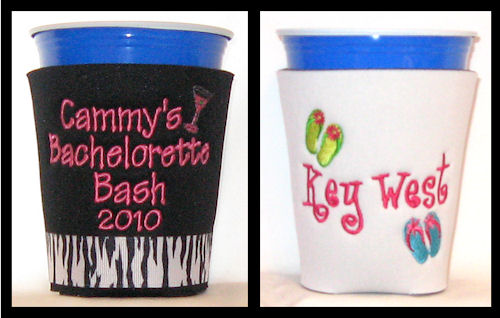 Personalized Plastic Cup Koozies