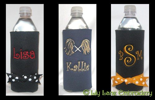 Team Spirit Water or Soda Bottle Cooler
